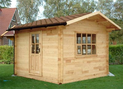 Home office solutions design log cabin garden office for Garden shed gym