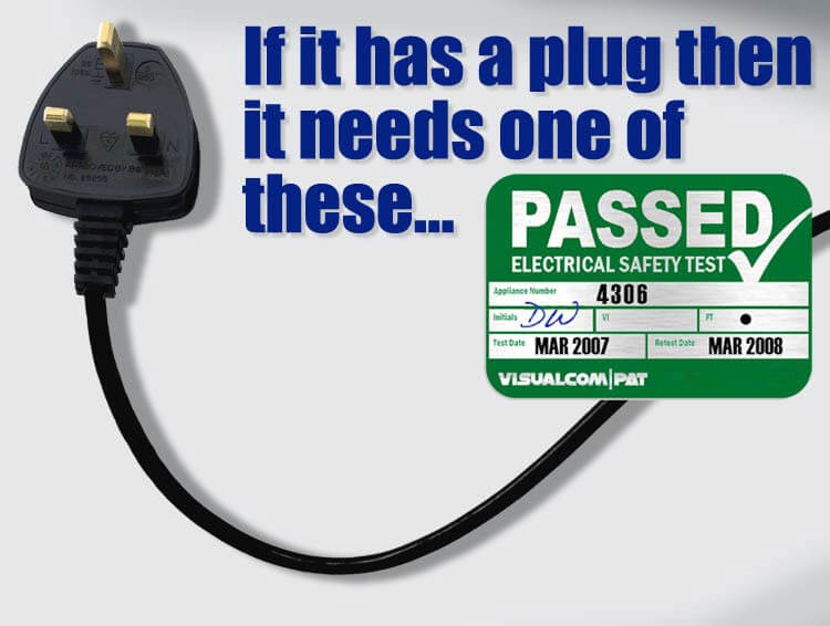 PAT Testing London prices & Costs ; if it has a plug it needs a test!